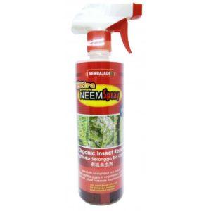 Serbajadi Extra Strength NeemSpray Bio Organic Insect Repellent