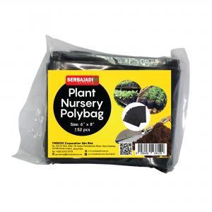 "Serbajadi plant nursery polybag size 6"" x 8"""