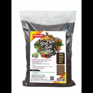 Serbajadi BioChar soil mix 1