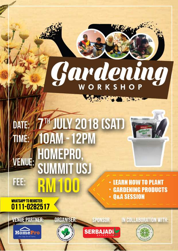 Gardening Workshop 07072018