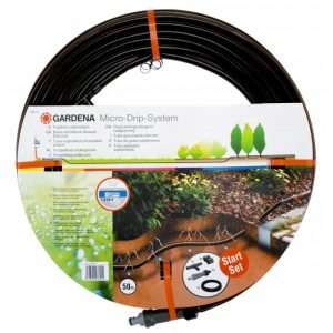 GARDENA BELOW AND ABOVE GROUND DRIP IRRIGATION LINE - 50M