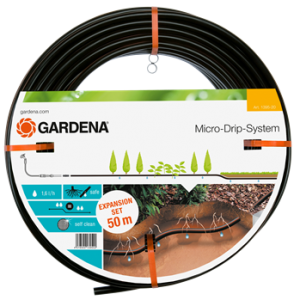 GARDENA BELOW AND ABOVE GROUND DRIP IRRIGATION LINE - 50M (extension set)