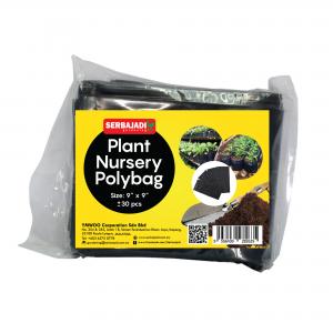 "Serbajadi plant nursery polybag size 9"" x 9"""