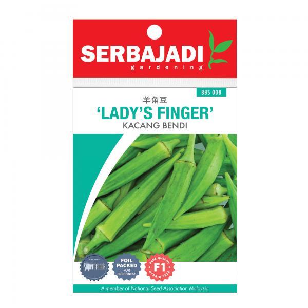 Serbajadi lady's finger seeds